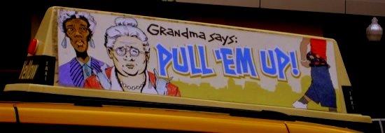 Big Grandma is watching you!