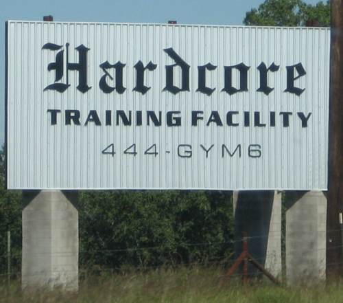 They take training seriously in Texas