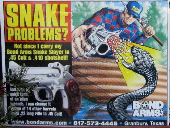 snake-gun