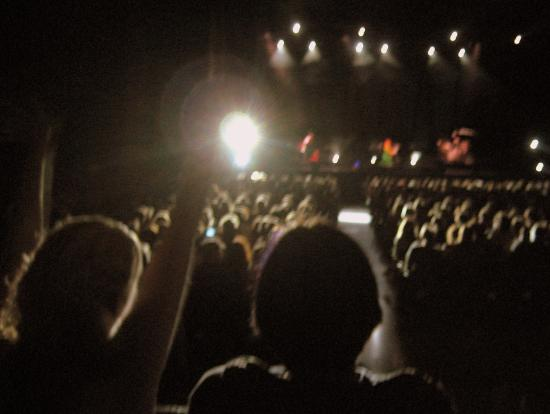 We saw Tori Amos together last year. Photo by Tui Cameron
