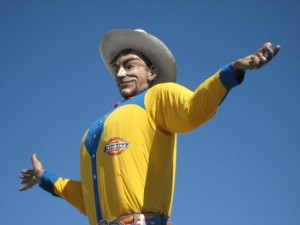 Big Tex at the State Fair of Texas, photo by Tui Cameron