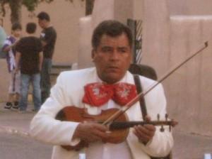 Pensive mariachi dude. Photo by Tui Cameron