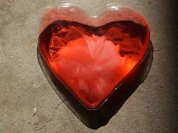 Reusable Heart-shaped hand warmers. photo by Tui Cameron