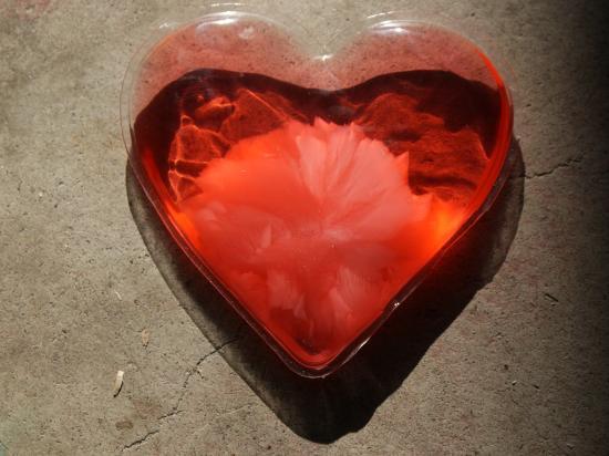 Reusable Heart-shaped hand warmers. photo by Tui Cameron