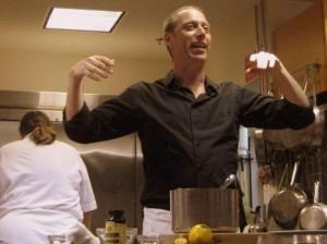David Lebovitz leading a pastry class. Photo by Tui Cameron