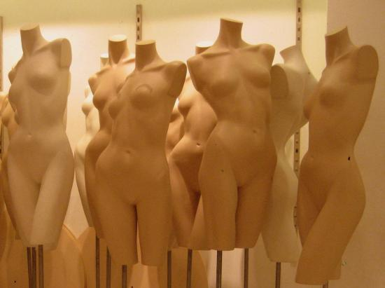 Shop mannequins. Photo by Tui Cameron