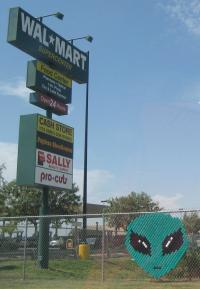 Wal-Mart in Roswell, New Mexico (photo by Tui Cameron)