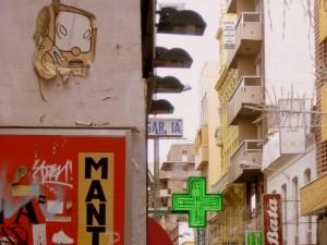 Textures in Cartagena, Spain (photo by Tui Cameron)