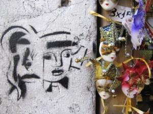 Graffitti in Venice. (photo by Tui Cameron)