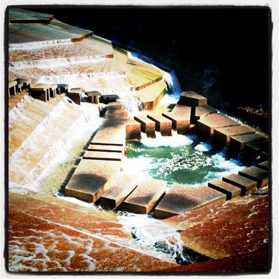 Active Pool at the Fort Worth Water Gardens (photo by Tui Snider)
