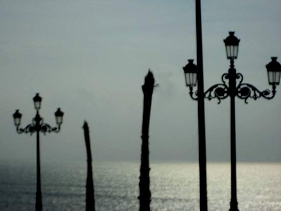 Silhouettes in Cadiz, Spain (photo by Tui Snider)