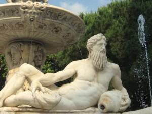 Fountain in Messina, Italy (photo by Tui Snider)