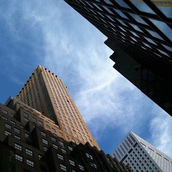 Manhattan skyscrapers. (photo by Tui Snider)