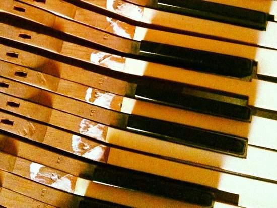 Piano keys. (photo by Tui Snider)
