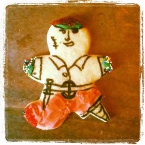 Pirate sugar cookie - Argh! (photo by Tui Snider)