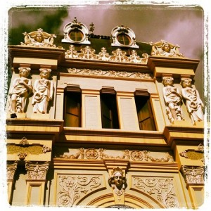 Beautiful facade in Tenerife, Canary Islands. (photo by Tui Snider)