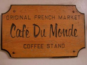 Cafe du Monde in the French Quarter of New Orleans. (photo by Tui Snider)