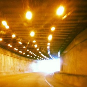 Fort Worth tunnel. (photo by Tui Snider)