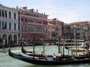 Gondolas in Venice (photo by Tui Snider)