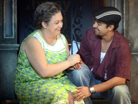 IN THE HEIGHTS, Nicole Cline, Perry Young © John Daughtry, 2011