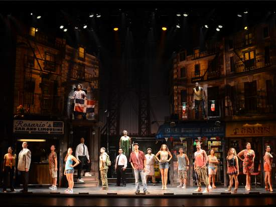 IN THE HEIGHTS, North American Tour Cast © John Daughtry, 2011