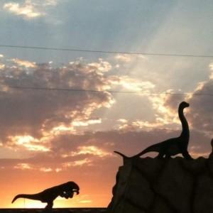 Dinosaur World at sunset in Glen Rose, TX ©Tui Snider