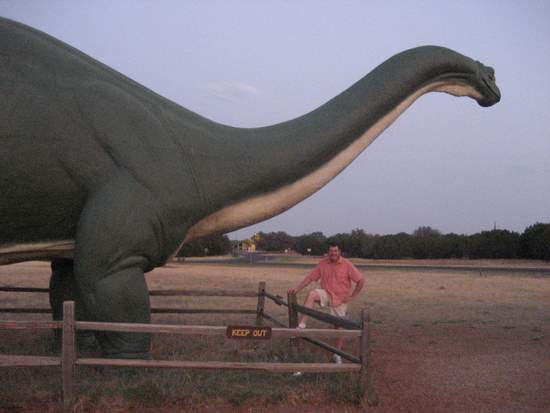Dinosaur State Park in Glen Rose, TX ©Tui Snider