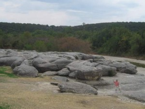 Big Rocks Park in Glen Rose, TX ©Tui Snider