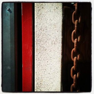Still life with an iron chain (photo by Tui Snider)