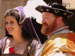 Henry VIII and the 'other' other Boleyn girl. (photo by Tui Snider)
