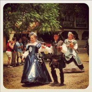 Scarborough Renaissance Festival costumes (photo by Tui Snider)
