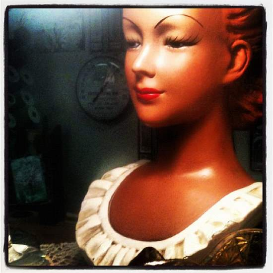 Antique doll for sale in Decatur, TX (photo by Tui Snider)