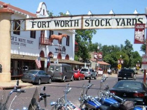 Fort Worth Stockyards (photo by Tui Snider)