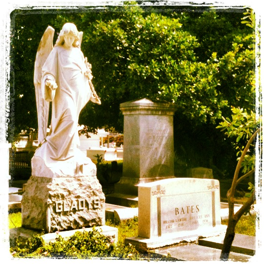 Cemetery angel (photo by Tui Snider)