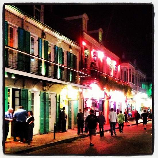 New Orleans stroll (photo by Tui Snider)