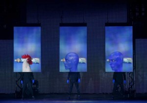 Blue Man Group theatrical tour in Dallas, TX