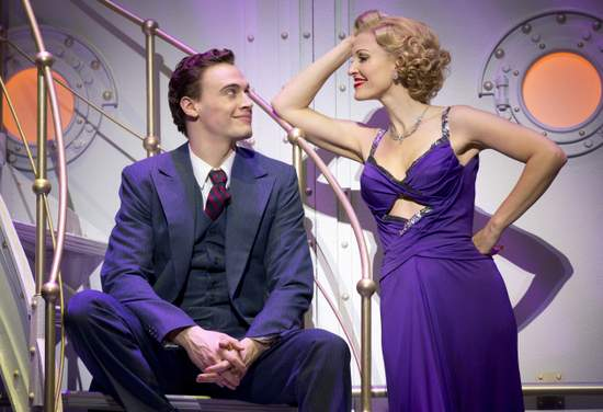 Roundabout Theatre Company's ANYTHING GOES Pictured: Erich Bergen and Rachel York Photo Credit: © Joan Marcus, 2012