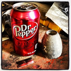 Still life with Dr Pepper (photo by Tui Snider)