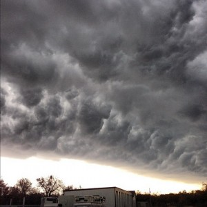 Texas storm clouds (photo by Tui Snider)