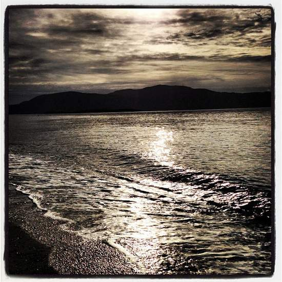Lummi Island beach (photo by Tui Snider)