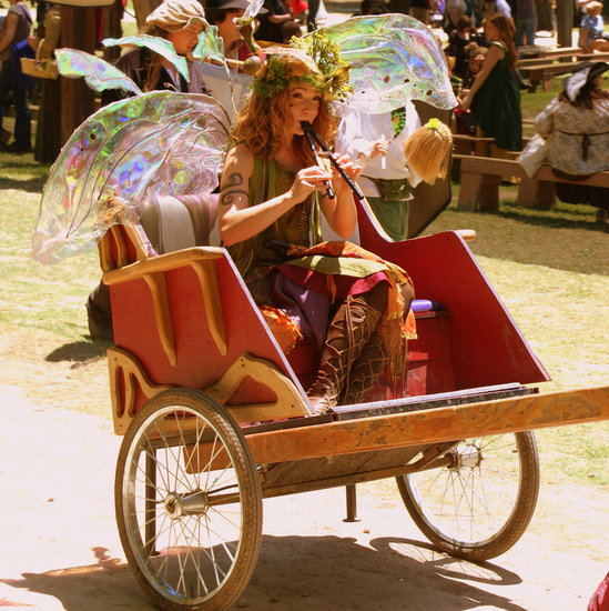 Pretty fairy at Scarborough Renaissance Festival in Waxahachie, TX (photo by Tui Snider)