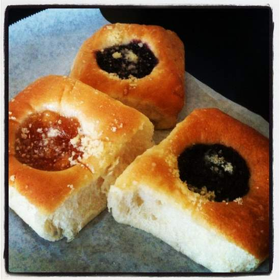Texans love kolaches (photo by Tui Snider)