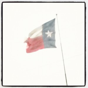 Texas State Flag (photo by Tui Snider)