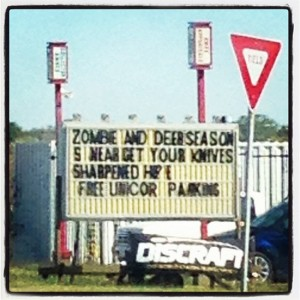 Free unicorn parking in Texas (photo by Tui Snider)