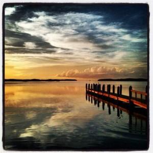 Florida Keys palm tree sunset (photo by Tui Snider)