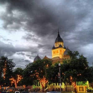 Ghosts of Denton, TX - haunted history tour (photo by Tui Snider)