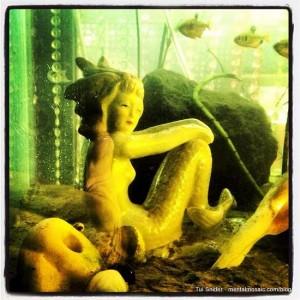 Retro mermaid (photo by Tui Snider)