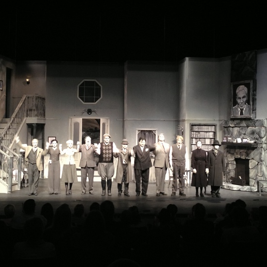 Curtain call for the Living Black and White™ play (photo by Tui Snider)