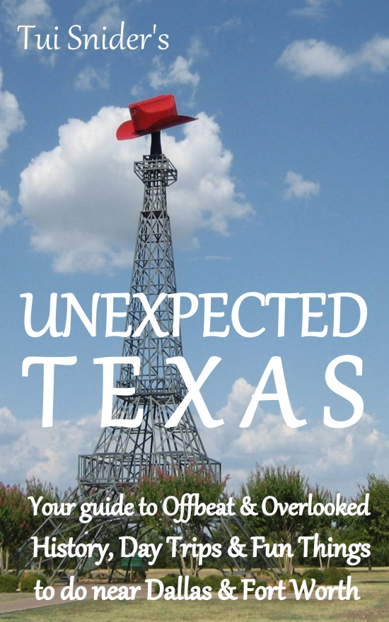 Tui Snider's Unexpected Texas travel book cover (photo by Tui Snider)