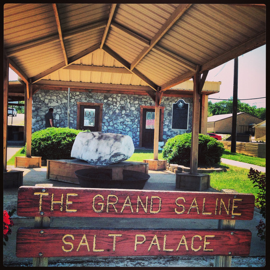 Salt Palace in Grand Saline, Texas (photo by Tui Snider)